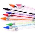 Высококачественный цветной хрустальный карандаш, стразы для дизайна ногтей, инструменты для захвата одежды DIY, бусины-пикапы, алмазный кара...
