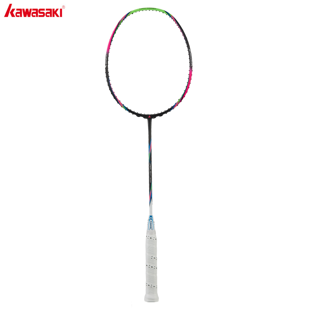Kawasaki 6U Badminton Racket Super Light  Offensive Type High Graphite Badminton Racquet For Training Super Light 588