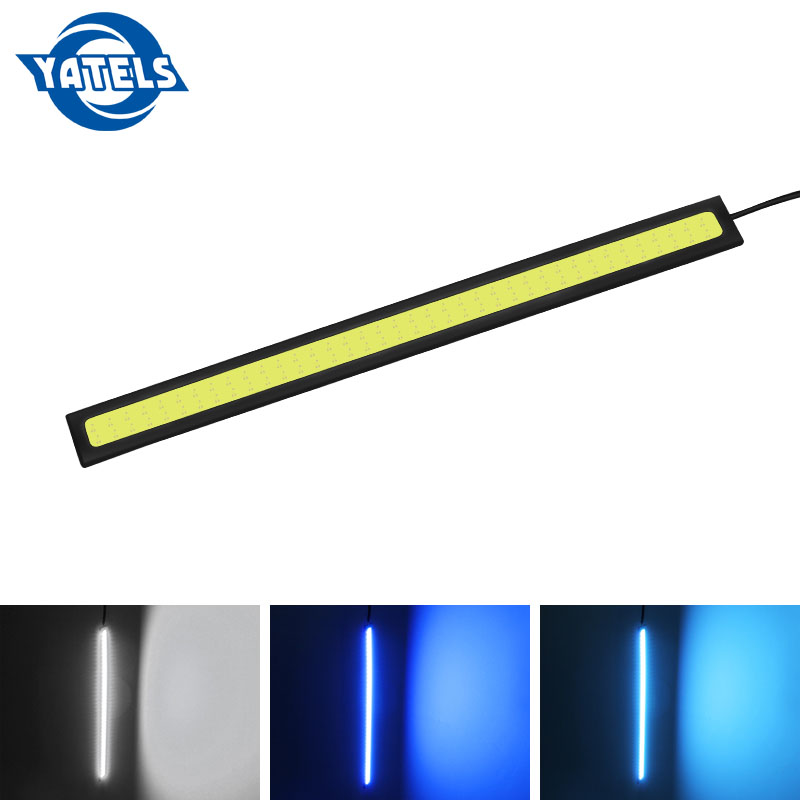 1 Pcs 14cm Universal Daytime Running Light COB DRL LED Car Lamp External Lights Auto Waterproof Car Styling Led DRL Lamp