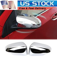 For Toyota Corolla 2014 2015 2016 2017 2018 ABS Chrome Rearview Side Wing Mirror Cover Exterior Molding Trim
