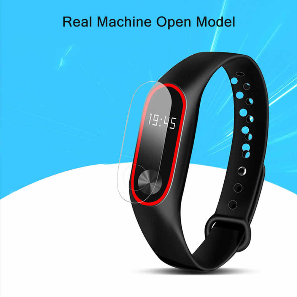 Screen Protector Film 3Pcs Screen Protector Bescherm Film Voor Xiaomi Mi Band 3 Smart Polsband Armband 2020