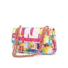 womens bags luxury handbags women designer for 2019 famous brand high quality caviar graffiti Rainbow crossbody