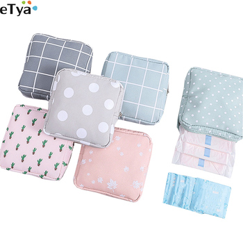 eTya Women Small Cosmetic Bag Set  Zipper Girls Mini Makeup  Lipstick Bags Travel  Earphone Coin Napkin Organizer Pouch Bags