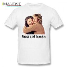 Orange Is The New Black T Shirt Grace And Frankie Hug T-Shirt Fun 100 Cotton Tee Man Short Sleeves Printed Tshirt