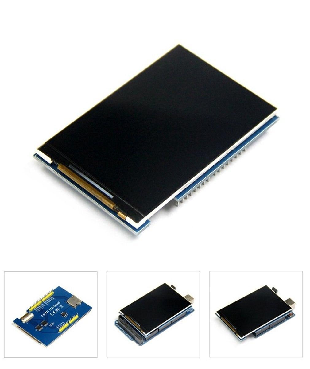 """3.5/"""" TFT LCD 480x320 HD Color Screen Module for Arduino UNO /& MEGA 2560 Board..."""