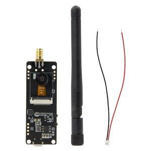 Image 4 - LILYGO® TTGO T Journal ESP32 Camera ESP32 OV2640 Camera SAM Wifi 3dbi Antenna 0.91 OLED ESP32 Camera Board