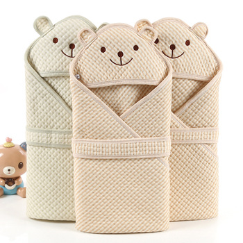 Color cotton baby quilt spring and autumn newborn cartoon air layer fine packaging wholesale