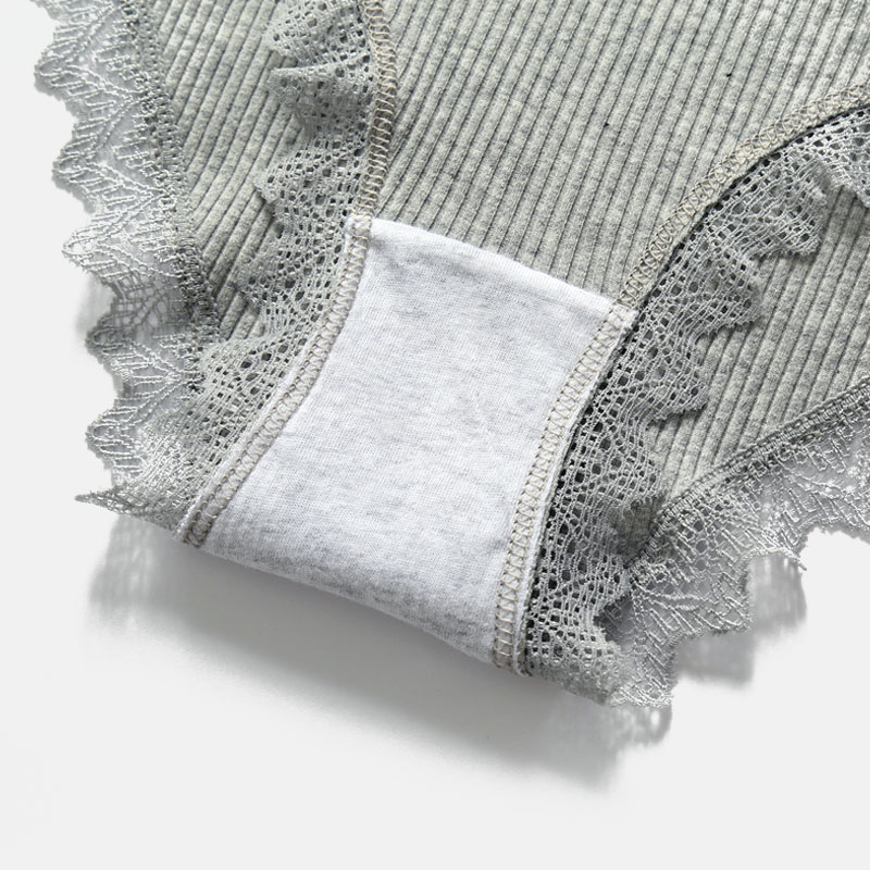 Lace Thread Sexy Panties Women's Cotton Underwear Seamless Cute Bow Girl Soft Comfortable Lingerie Fashion Women Onderbroek