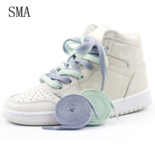 Locking-Shoelace Shoes Sneakers Laces-Strings Elastic Flat Creative Kids New Adult 1pair