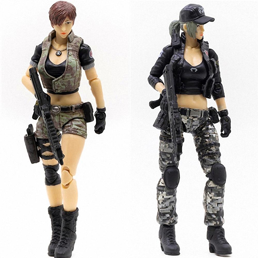 1 18 figuras de acao joytoy cf crossfire jogo femea fonte soldado figura modelo feminino brinquedos