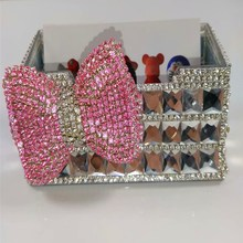 Diamond stationery business card holder customized Cardcase office special business card bo