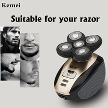 Kemei Rechargeable Electric Shaver Five