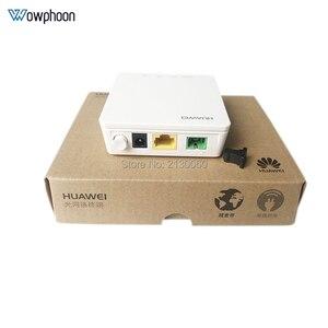 Image 5 - חדש Huawei HG8010H Gpon האופטי מסוף ONU ONT עם 1 GE יציאות ethernet, SC APC ממשק אנגלית הקושחה