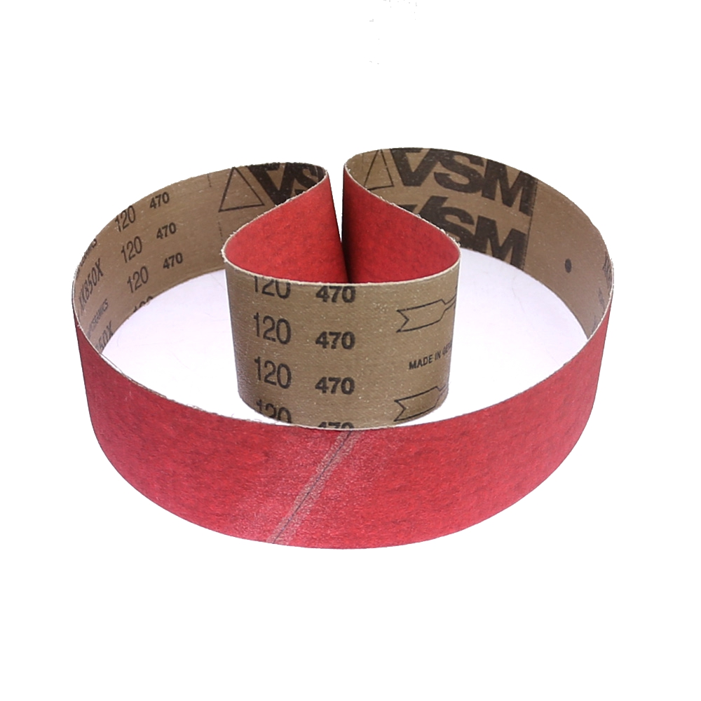 Image 3 - 1 piece XK850X Ceramic Sanding Abrasive Belts for Superhard Steel Grinding-in Abrasive Tools from Tools