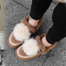 Зимние сапоги с шерстяной подкладкой женская обувь теплая на
