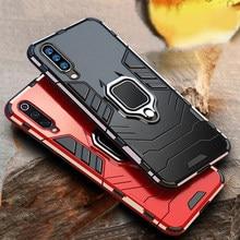 Capa de celular com suporte de carro, capa anti-choque para samsung galaxy a50 a70 a40, anel de celular para carro e samsung a10 a70 a50