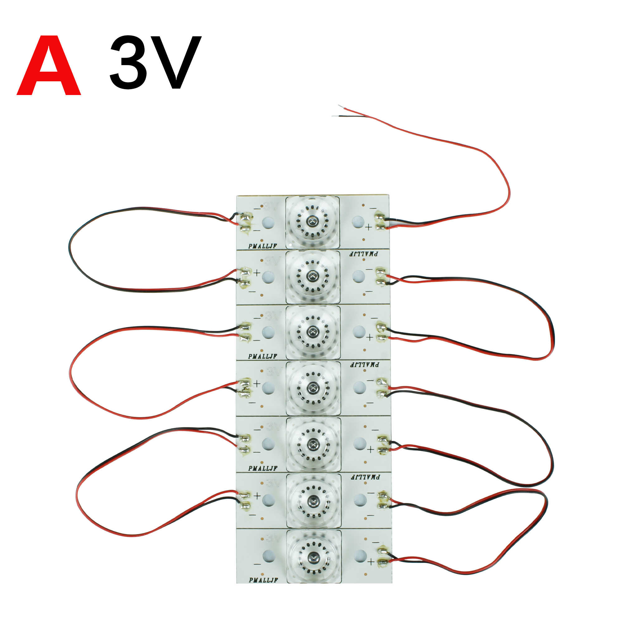 3V 6V NEW SMD Lamp Beads with Optical Lens Fliter for 20-120 inch LED TV Repair