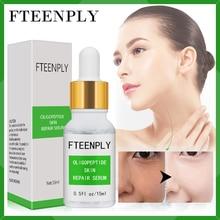 FTEENPLY Oligopeptides Serum Facial Repair Anti-Aging Hyaluronic Acid Anti-wrinkle Moisturizing Essence Acne Treatment Skin Care