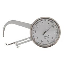 0 10mm 0.05mm szklany przyrząd do pomiaru grubości tarczy suwmiarka suwmiarka pomiarowa w Mierniki ultradźwiękowe od Narzędzia na