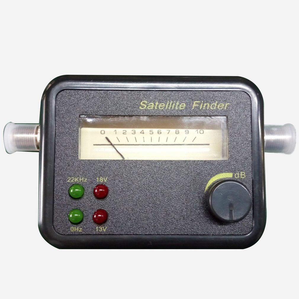 Satellite Signal Detector 0 / 22Khz 13V / 18V Satellite Finder Sf001 Model 4 Lights Professional Compact And Accurate