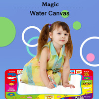 Magic Water Drawing Mat Coloring Doodle Mat with Magic Pens Montessori Toys Painting Board Educational Toys for Kids Drawing Toy