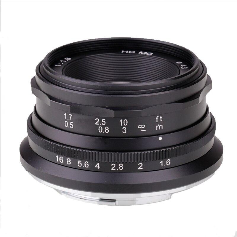 Ручной фиксированный объектив для камеры Sony 35 мм F1.6