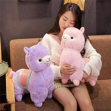 35/50cm bonito sela alpaca pelúcia brinquedos de pelúcia macio alpacasso alpaca boneca travesseiro animal de pelúcia crianças presente aniversário alta qualidade