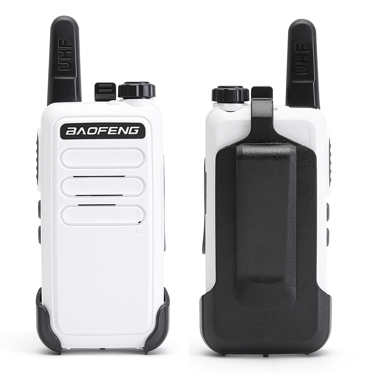 4 Pcs Baofeng BF-C9 Mini Walkie Talkie 400-470MHz UHF Two Way Radio Portable VOX USB Charging Handheld Transceiver
