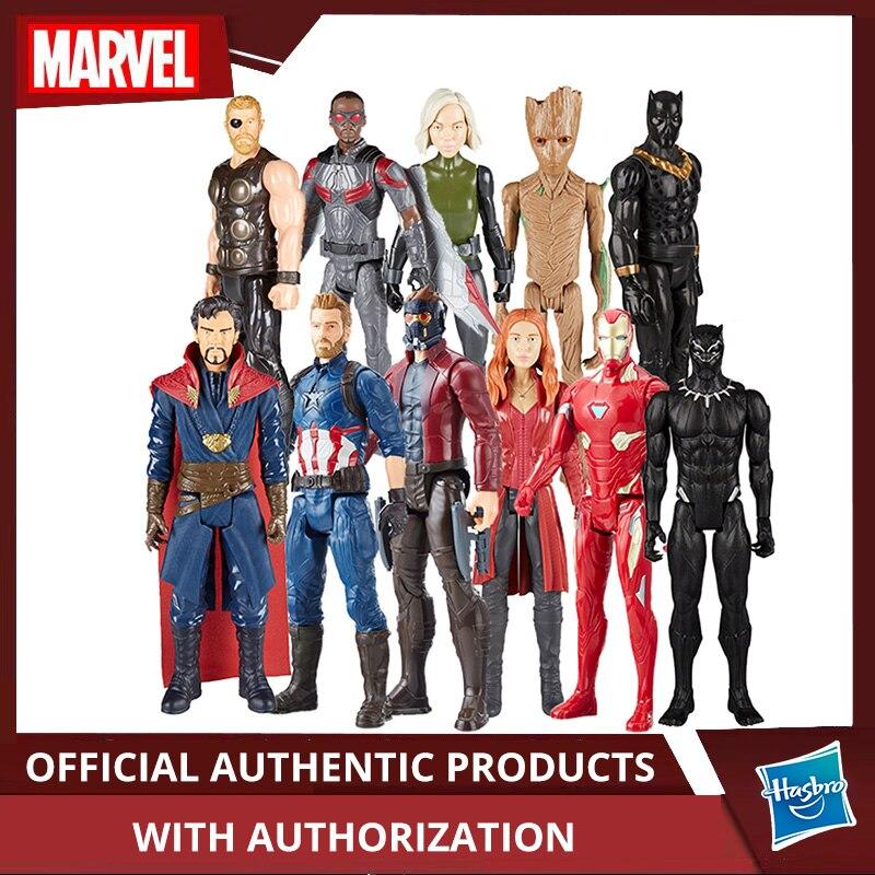 "Hasbro Marvel Avengers Infinity War Starforce Super héros 12 ""jeu final Titan héros série Spiderman Iron Man raton laveur docteur étrange"