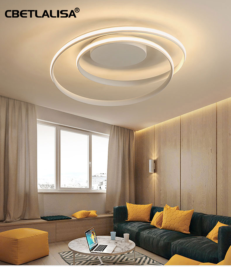 Led Lamp Home Chandeliers For Dining Room Living Room With Remote Control Good Quality, АС110-220, Modern Ceiling Chandelier
