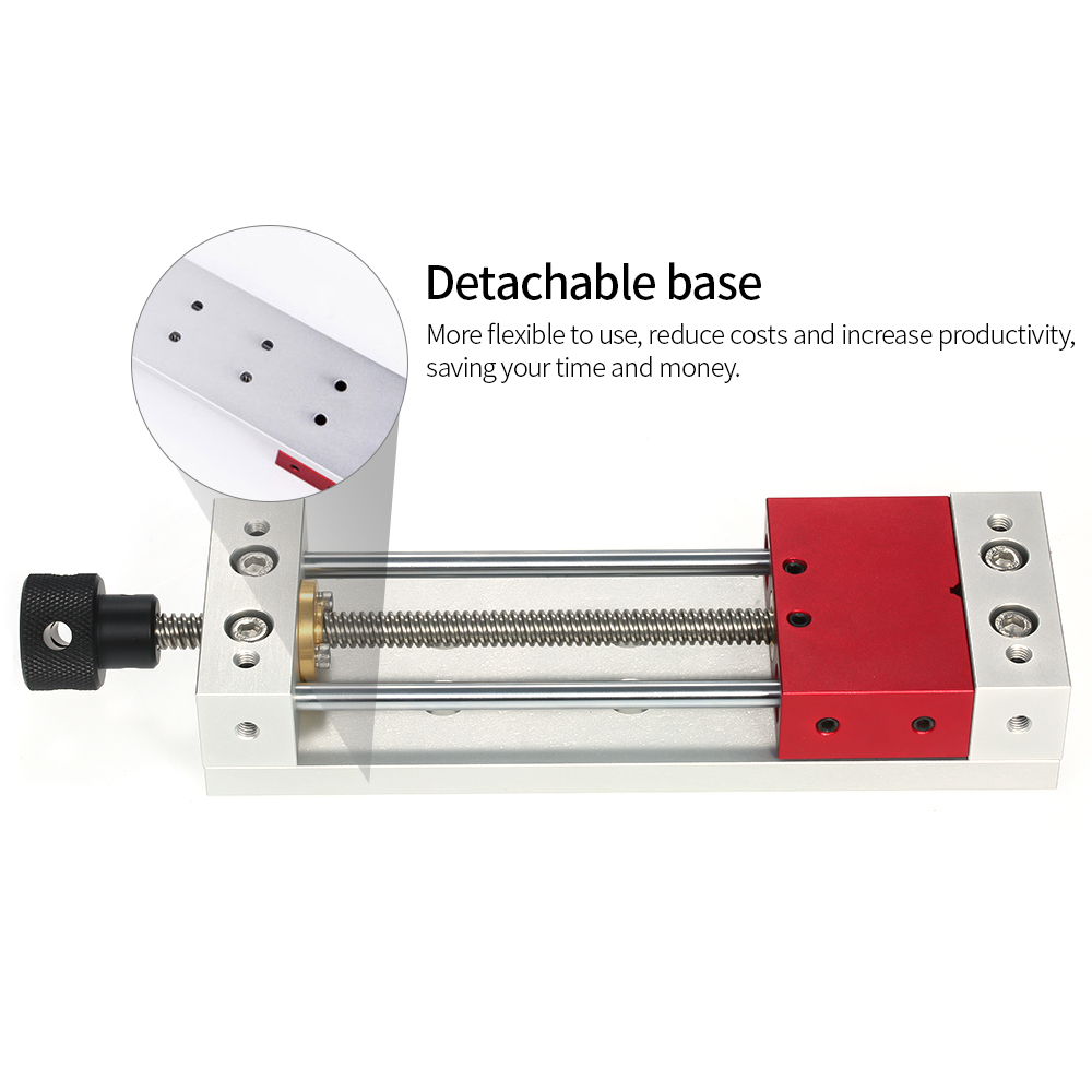 CNC Router Bench Vise Laser Engraver Mini Table Vise Suitable For CNC 1419 Laser Engraving Grinding Machine Milling Pliers