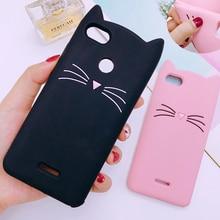 Cute Beard Cat Case For Xiaomi Mi 8 SE 6