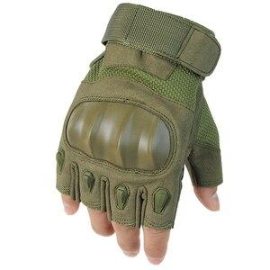 Image 1 - Guantes para motocicleta ciclismo al aire libre, entrenamiento de montaña, escalada, Fitness, antideslizantes, guantes tácticos de protección