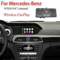 CarPlay Drahtlose Video Interface Für Mercedes C-Klasse W204 2011-2014 Backup Kamera Decoder Auto Spielen Android Auto modul WIFI