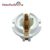 White Car Auto Rear Light Lamp Bulb Socket Holder For BMW 7 Series X3 X5 63216943036 D25