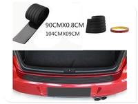 Car SUV rear bumper sill / protection board rubber cover guard plate for Ford Expedition EcoSport Kuga F-Series Escape