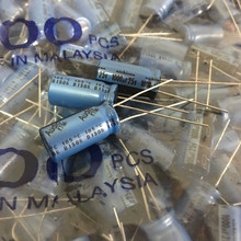 10 adet orijinal NICHICON KT 25V1000UF 10X20MM ses elektrolitik kondansatör mavi kt 1000 UF/25 V sıcak satış 1000UF 25V