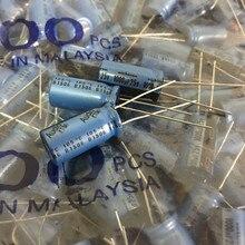 10 sztuk oryginalne NICHICON KT 25V1000UF 10X20MM Audio kondensator elektrolityczny niebieski kt 1000 UF/25 V gorąca sprzedaż 1000UF 25V