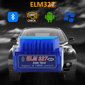 Image 5 - ELM327 Bluetooth V1.5 PIC18F25K80 OBD2 Scanner ELM 327 Bluetooth Android/PC Torque Car Code Scanner OBD2 Bluetooth Adapter 1.5