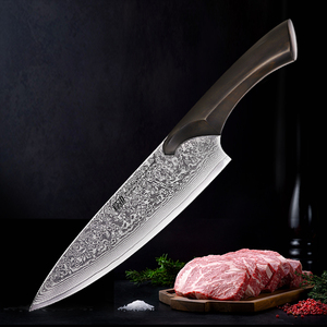 New!Cheetah Series Kitchen Chef Knifes 8 Inch 67 Layers Damascus Japanese Knife Ebnoy Big Handle VG-10 Steel 2019 best Knives