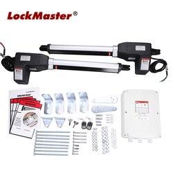 Abrepuertas batientes automáticas para un peso de la puerta de hasta 400KGS y 5 metros cada hoja LOCKMASTER LM902 Joytech gigante opcional