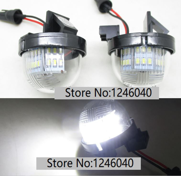 EM Bright Xenon White LED Number Plate Upgrade Light Bulb 1x Suzuki Wagon R