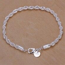 цены Women's Bracelet Bracelet, Twist Bracelet Fast Sale and Explosion-proof Jewelry Bracelet, 925 American Jewelry Bracelet