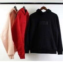 KITH Hoodies Men Women Classic Logo Streetwear Harajuku Xxxtentacion Stranger Things Sweatshirt Skateboard Hoodie