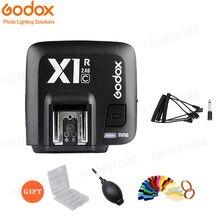 Godox X1R-C / X1R-N / X1R-S ttl 2.4g wirelss flash receptor para X1T-C/n/s xpro-c/n/s gatilho canon/nikon/sony dslr speedlite