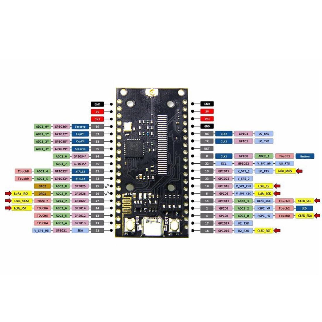 SX1276 LoRa ESP32 868MHz Bluetooth WI-FI LoRa Internet Module With Antenna For Arduino