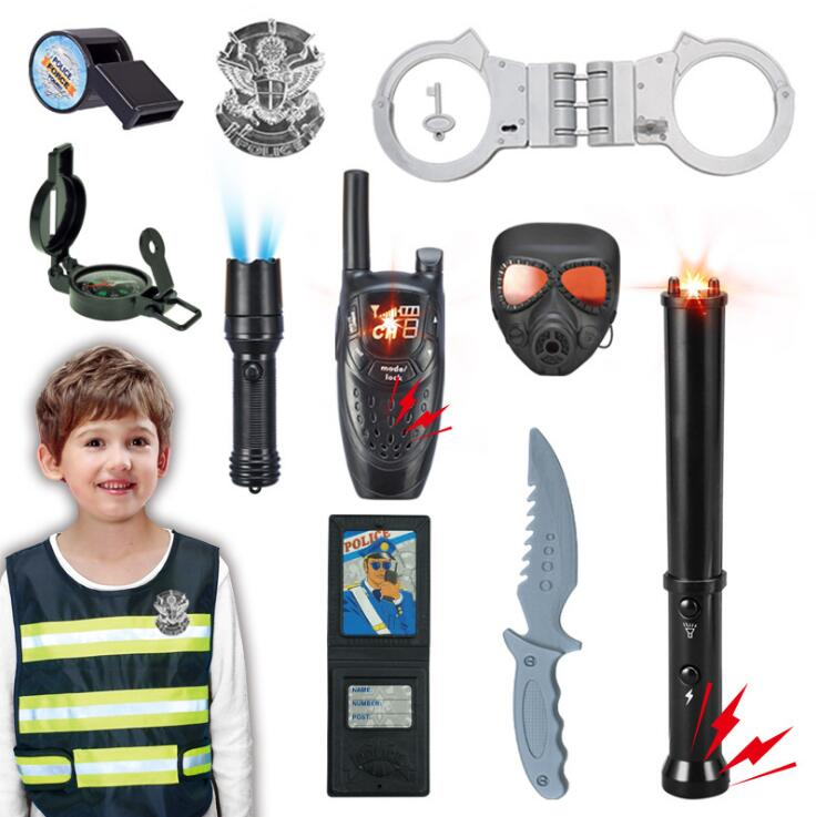 cos Play set, children <font><b>police</b></font> toy, the product can be free match, please contact us image