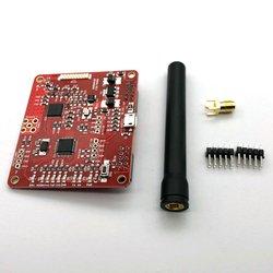 2.0 módulo hotspot suporte p25 dmr ysf nxdn para raspberry pi tipo b 3b 3b + com placa de antena vermelho
