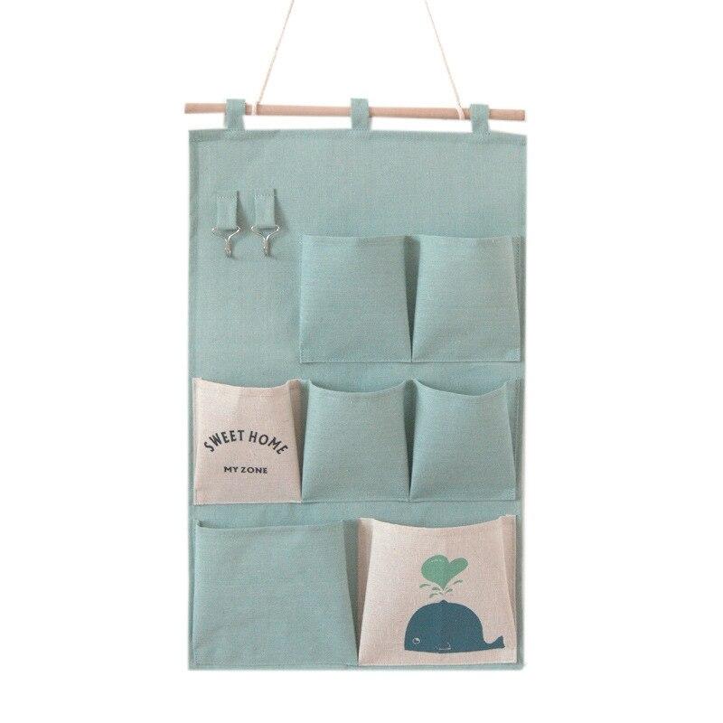 Carttoon настенная подвесная сумка для хранения в скандинавском стиле, органайзер для детской кроватки, декор для детской комнаты, детская игрушка, сумка для хранения подгузников, Домашний Органайзер - Цвет: 8