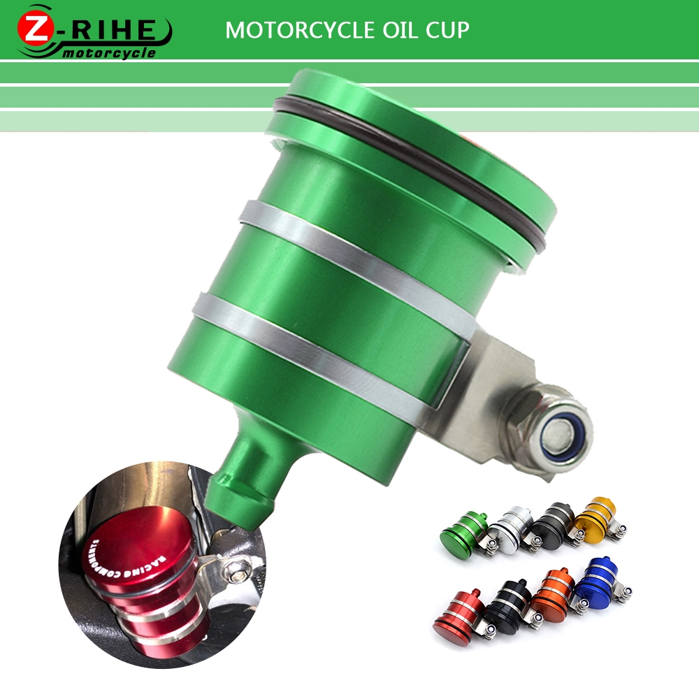 Motorcycle accessories rear Brake Fluid Reservoir Clutch Tank Oil Fluid Cup parts FOR <font><b>YAMAHA</b></font> MT 10 09 07 01 125 03 <font><b>FZR</b></font> <font><b>1000</b></font> 250R image
